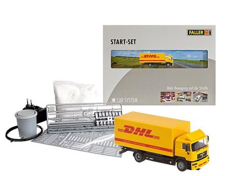 Faller H0 161607 Car System Start-Set LKW DHL