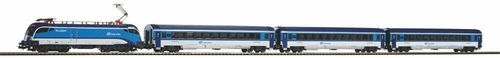 Piko H0 57179 Start-Set mit Bettung Rail Jet CD
