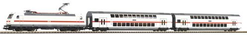 Piko H0 57133 Start-Set BR 146 mit 2 IC Doppelstockwagen